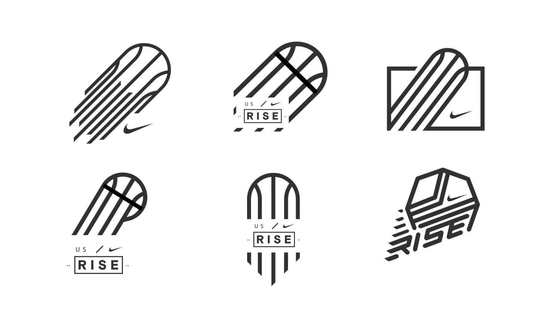 NIKE-RISE-logos